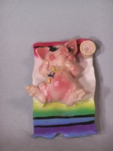 """Pig On A Blanket fridge magnet, approx. 2.75"""" tall - $2.53"""