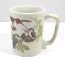 Otagiri Japan Coffee Mug Design Gibson Inc Birds Leaves - $14.95