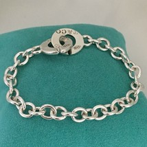Tiffany & Co Sterling Silver 1837 T&CO Circle Clasp Toggle Bracelet - $209.00