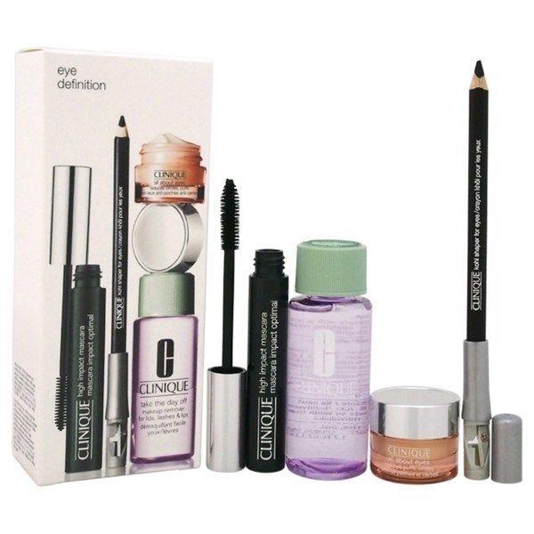 NIB Clinique 4 Piece Eye Definition Kit - Kohl Shaper, Mascara, Take Day Off + 1 - $42.99