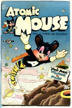 Atomic Mouse #1 1953-Charlton-1st issue-origin-sci-fi issue-VG - $107.19