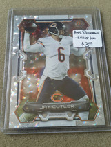 2015 Bowman Rainbow Silver Ice #V20 Jay Cutler : Chicago Bears - $2.38