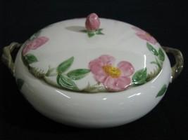 "Vintage Near Mint Franciscan Desert Rose Covered Casserole 1.5 Quart 10""... - $64.99"