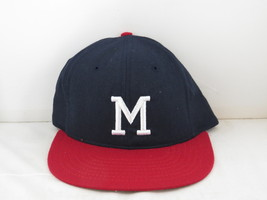 Milwaukee Braves Hat (VTG) - 1980s Reproduction Pro Model by Roman Pro - 7 3/8 - $95.00