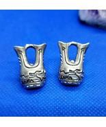 Silver Cloud Shop Sterling Silver Native American Wedding Vase Stud Earrings - $98.99