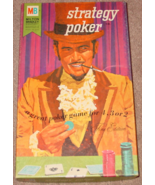 STRATEGY POKER GAME 1967 MILTON BRADLEY  EXCELLENT LIGHTLY PLAYED CONDITION - $30.00
