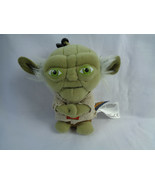 Disney Star Wars 2013 The Force Awakens Yoda Talking Plush Clip-On Toy - $5.89