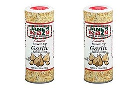 Jane's Krazy Chunky Mixed-Up Garlic Seasoning, 135 grams, (2 Pack) - $29.65