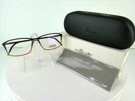 Silhouette SPX Illusion Fullrim 2893 6057 Walnut 56-15-145 Eyeglass Frames - $90.20