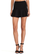 New Parker Elora Skirt Black Sz 4 $198  - $21.24