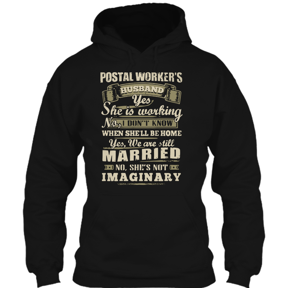Postal Worker's Husband T Shirt