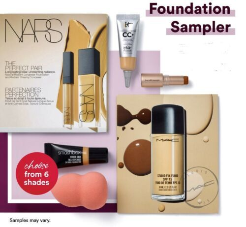 Ulta 6pc Foundation Sampler Choose Light Or Fair It Cosmetics + More GWP $25 - $24.99