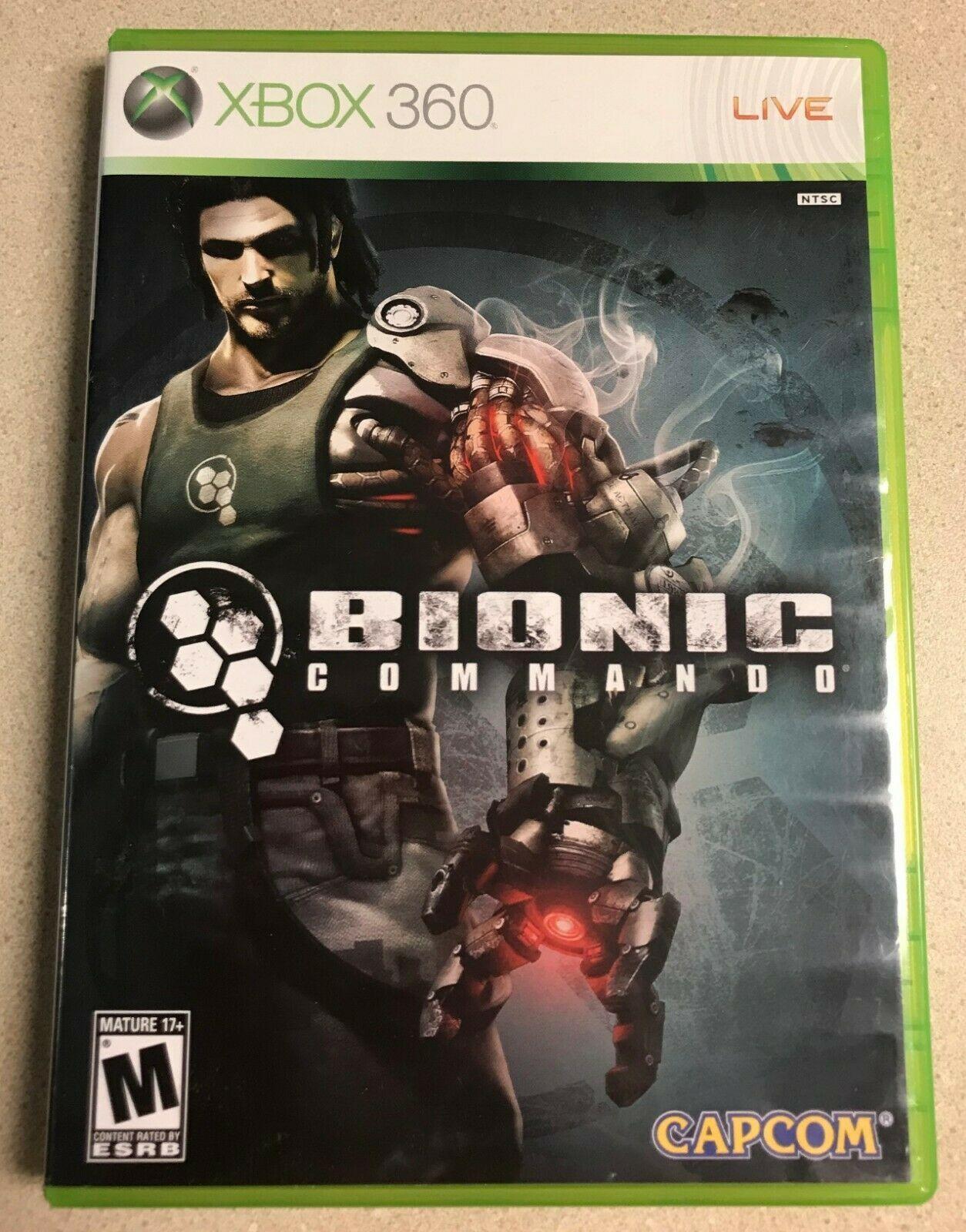 Bionic Commando (Microsoft Xbox 360, 2009) Game