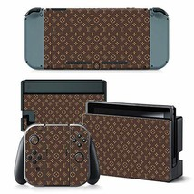 Vinyl Skin Cool Sticker for Nintendo Switch Full Set Faceplate Cover Decals with - $20.80