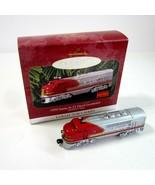 1997 Hallmark Keepsake 1950 Santa Fe F3 Diesel Locomotive Lionel Train O... - $9.99