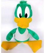 "Vintage Applause Tiny Toon Plucky Duck Green White Plush Stuffed Animal 20"" - $30.00"