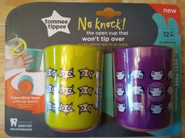 Tommee Tippee 2-Pack No Knock Over Cups 12+ Months Training Cups - FREE ... - $13.39