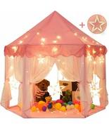 Sunnyglade 55'' x 53'' Princess Tent with 8.2 Feet Big and Large Star Li... - $38.60