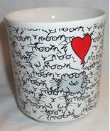 Vintage You're one in a Million Cat Balloon Coffee Mug Sandra Boynton Korea - $19.99