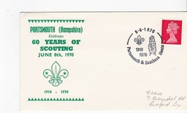 BOY SCOUTS 60 YEARS OF SCOUTING PORTSMOUTH HAMPSHIRE JUNE 8 1970  - $1.98