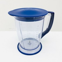 Ninja Master Prep QB900B 30 - Replacement 48 oz Pitcher BLUE with Lid - $18.04