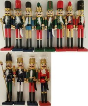 "Christmas Nutcracker Soldiers Wooden Decorations 9"", Select Colors - $2.99"