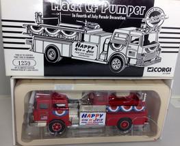 Corgi 1:50 Mack CF Pumper Fire Truck 4th of July ltd ed. 1259 of 2,000 f... - $35.00