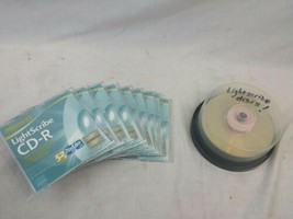 Lot of 25 Memorex CD-R Light Scribe 52X 700mb 80 min. JM-0622 - $43.53