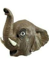 Elefante Maschera Intera, Costume Gomma Maschera Animale - $23.68