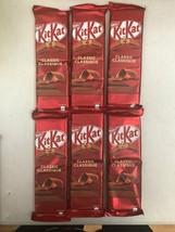 6x Kit Kat Classic Chocolate Bars Large Size 120g NESTLE Canada- FRESH - $17.93