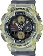 New Casio G-Shock Analog-Digital Resin Strap Unisex Watch GMAS140MC-1A - $200.01