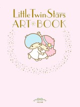 Little Twin Stars Art Book Kiki & Lala 40 Anniversary official art book - $33.13