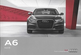 2012 Audi A6 sales brochure catalog US 12 2.0T 3.0T - $8.00