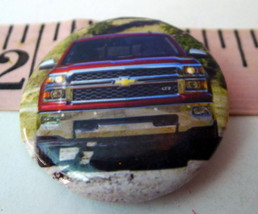 Red Chevy Truck Pin 2014  - $6.88
