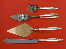 Sentimental by Oneida Sterling Silver Dessert Serving Set 4pc Custom Made - $299.00