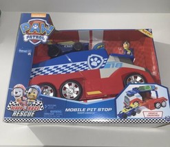 CAR PAW PATROL KIDS Playset Electric Toys Rescue Mobile Vehicle Pit Stop... - $59.99