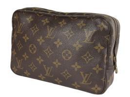 LOUIS VUITTON TROUSSE TOILETTE 23 Monogram Canvas Cosmetic Pouch Bag LP4096 - $269.00