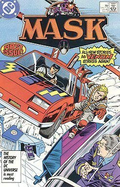 Mask #1 (When Opportunity Knox !) [Comic] [Dec 01, 1985] DC