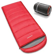 NORSENS Backpacking Sleeping Bag for Camping, Hiking. Lightweight Compac... - $52.50
