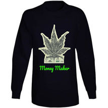Money Maker 420 Canna Long Sleeve T Shirt image 5
