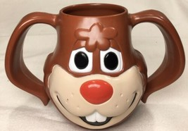 """Vintage Nesquick """"QUIK"""" Plastic Bunny Mug/Cup The Nestle Co Made in USA - $19.75"""