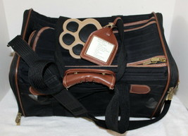 Sherpa Dog or Cat Pet Carrier ~ Black ~ Used ~ Nice - $28.99