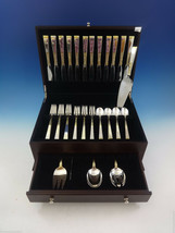 Golden Scroll by Gorham Sterling Silver Flatware Set For 12 Service 53 Pieces - $3,200.00