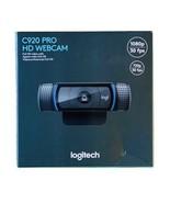 NEW Logitech C920 HD Pro 1080p Widescreen Webcam FREE SHIPPING - $178.19