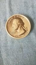 "Liberty 1776-1976 bicentennial Candy/Sweet Coin Quarter Dollar Tin, 4.25"" - $21.85"