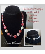 Red Sediment Jasper Necklace - New! - $25.00