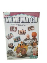 Meme Match Game New Concentration Memory 2 to 8 Players New - $6.88