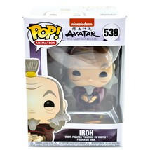 Funko Pop! Animation Avatar The Last Airbender Uncle Iroh #539 Action Fi... - $16.82