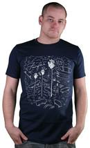 Dope Couture Fairfax Block Skateboarding Palm Bäume T-Shirt