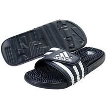 New Adidas Adissage 078261 Navy White Slippers Slide Men - $30.00